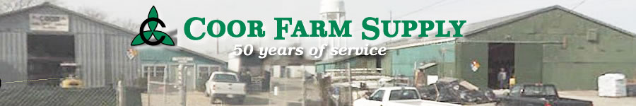 Coor Farm Supply - Serving the Green Industry for 50 years